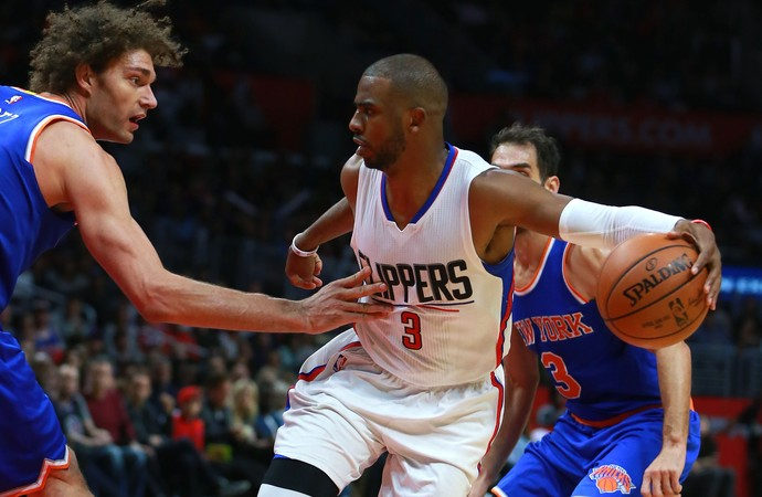Chris Paul Clippers x Knicks NBA (Foto: Getty)