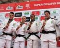 Com belo ippon e três vitórias, Brasil bate a Coreia do Sul em Super Desafio