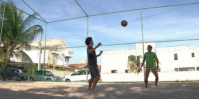 victor ferraz, santos, lateral do Santos (Foto: Reprodução / TV Cabo Branco)