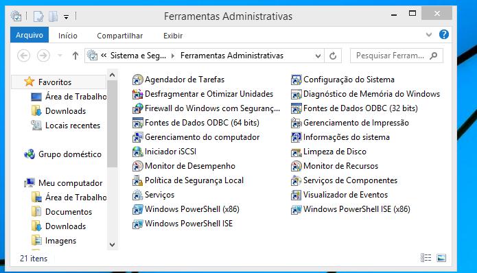 Conheça algumas da principais ferramentas administrativas do Windows (Foto: Reprodução/Edivaldo Brito)