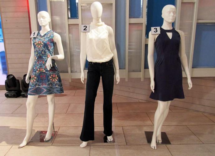 Escolha o look que a Fátima irá usar no programa de 4/12 (Foto: Carolina Morgado/Gshow)