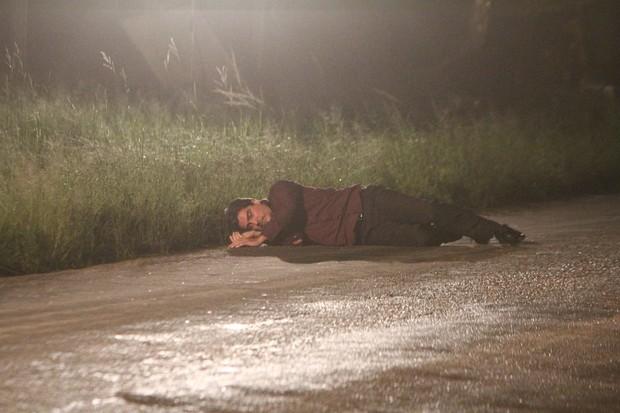 Junno Andrade em gravação de 'Salve Jorge' na Zona Oeste do Rio (Foto: Delson Silva/ Ag. News)