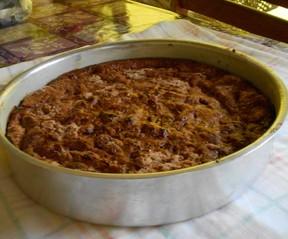 Torta crioula de banana (Foto: Torta crioula)