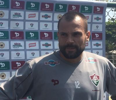 Diego Cavalieri Fluminense (Foto: Thiago Lima / GloboEsporte.com)