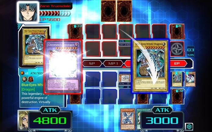 Jogo para Android de Yu-Gi-Oh traz todos os personagens do anime (Foto: Divulgação / Konami)