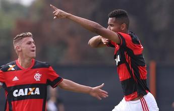 Fla sai na frente do Bota na final e coloca a mão na Taça Rio Sub-20