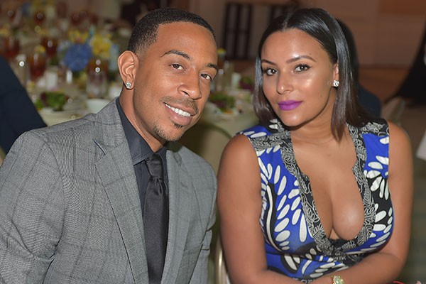 Ludacris e Eudoxie Mbouguiengue (Foto: Getty Images)