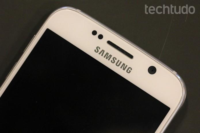 Galaxy S6 tem processamento potente combinado com tela em QHD (Foto: Fabricio Vitorino/TechTudo)