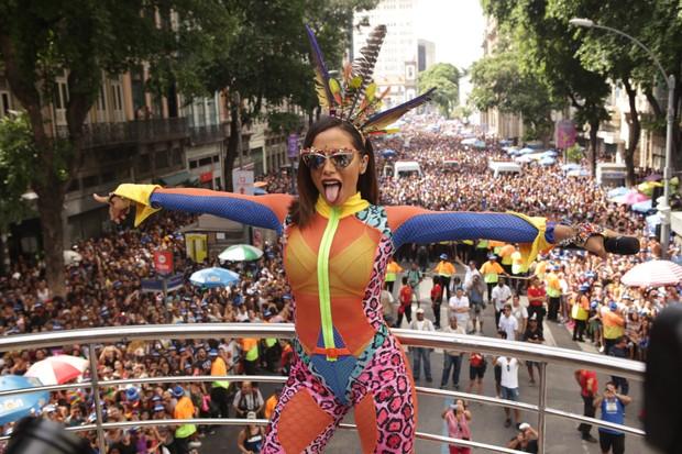 Anitta no Bloco das Poderosas (Foto: Raphael Mesquita/Brazil News)