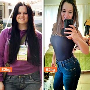 EuAtleta minha história danyele sell antes e depois (Foto: Eu Atleta)