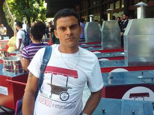 Após passar 11 anos preso, Francisco Diassis afirma que vai recomeçar a vida (Foto: Gioras Xerez/G1 Ceará)