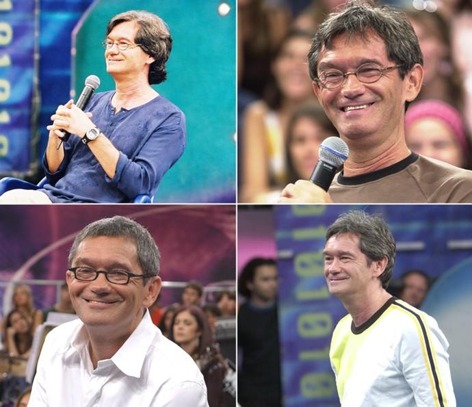 Serginho Groisman comemora 16 anos do programa 'Altas Horas' (Foto: Altas Horas)