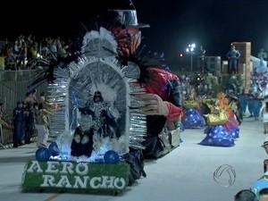 Unidos do Aero Rancho (Foto: Reprodução/ TV Morena)