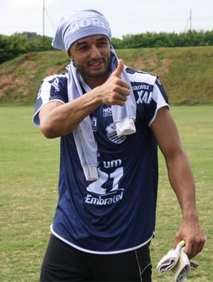 Alex Santana, goleiro do Comercial-SP (Foto: Cleber Akamine / Globoesporte.com)