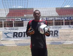 Santos, goleiro do Potiguar de Mossoró (Foto: Marcelo Diaz/Divulgação)