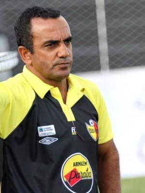 Edson Ferreira, técnico do Paraíba de Cajazeiras (Foto: Magnus Menezes / Jornal da Paraíba)