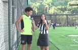 Bate-Bola com o meia Camilo