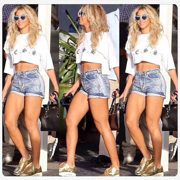 MODA - Beyoncé (Foto: Instagram / Reprodução)