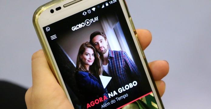 Globo Play é o o aplicativo para assistir aos programas da Globo ao vivo  (Foto: Raíssa Delphim/TechTudo)