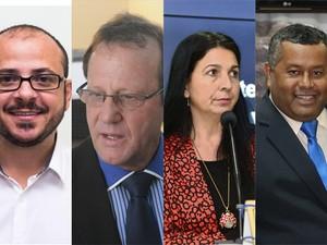 Presidentes das Câmaras de vereadores na Grande Vitória (Foto: Arte/ A Gazeta)