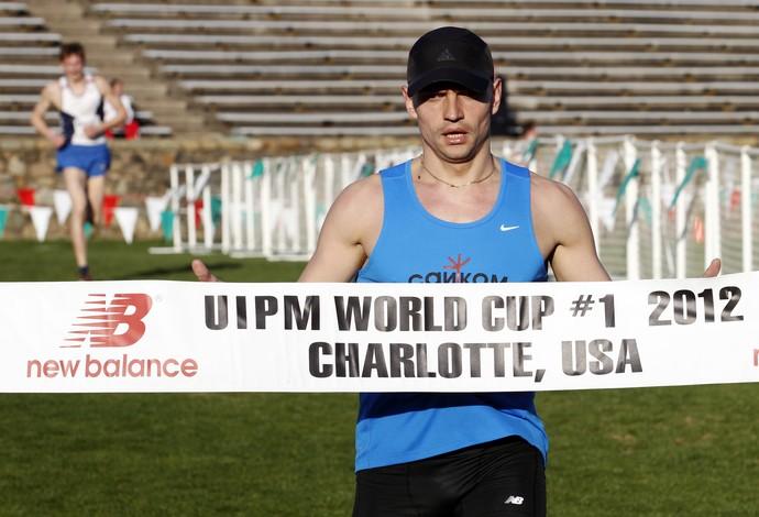 Maksim  Kustov é excluído dos Jogos Olímpicos do Rio (Foto: AP)