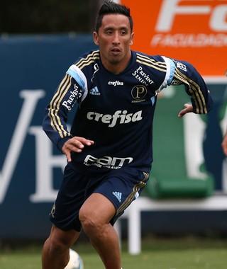 Lucas Barrios Palmeiras (Foto: Cesar Greco/Ag Palmeiras/Divulgação)