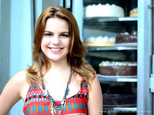 Bianca Salgueiro é fã da farofa de linhaça e de soja (Foto: Malhação)