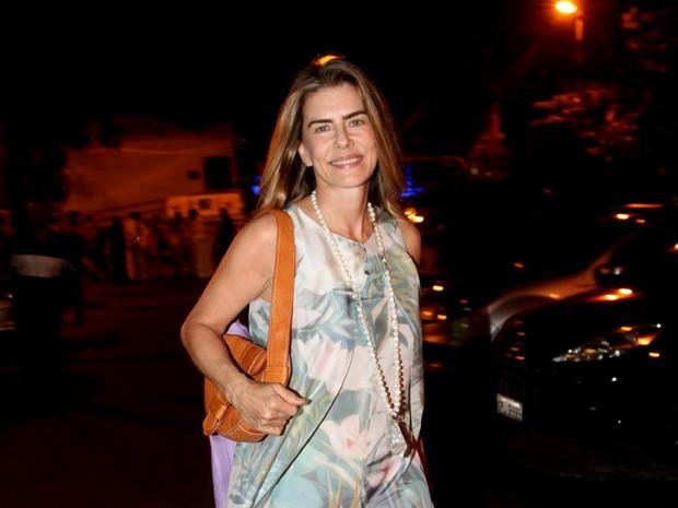 Maitê Proença em festa na Zona Sul do Rio (Foto: Claudio Andrade/ Foto Rio News)