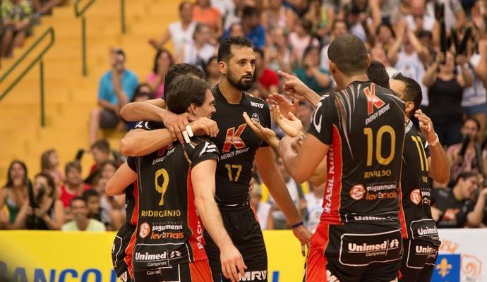 Campinas vôlei Superliga (Foto: João Neto / Vôlei Brasil Kirin)