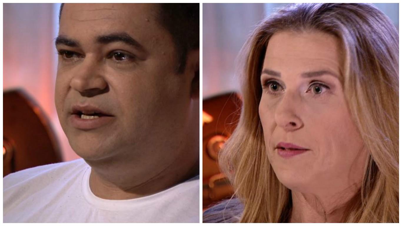 Palino Forechi e Claudia Gregório (Foto: Divulgação/ TV Gazeta)