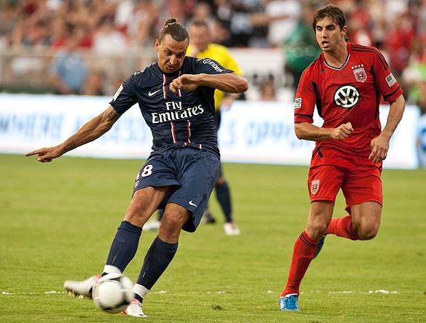 Ibrahimovic, PSG (Foto: Agência AFP)