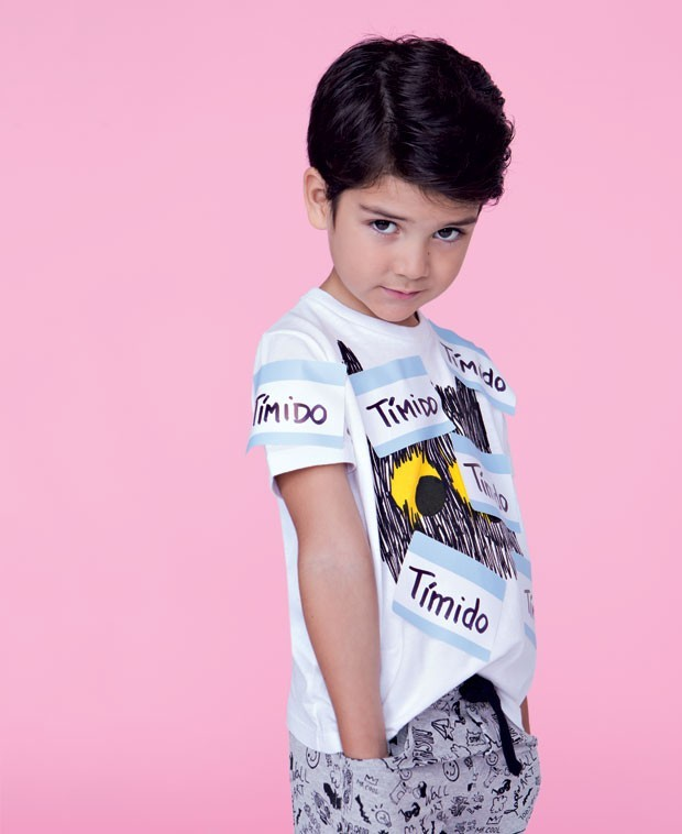 O tímido (Foto: Paula Perrier | Modelos: Max Fama/Kids))