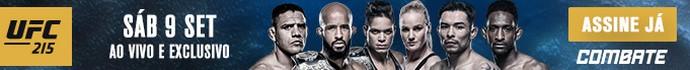 Banner Combate UFC 215 (Foto: Combate)