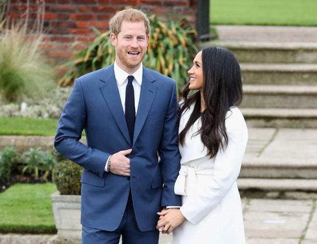 Principe Harry acertou na escolha do costume azul (Foto: Getty Images)