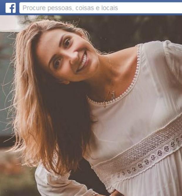 Paola Felippe de Sena morreu nesta sexta (Foto: Reprodução/Facebook)