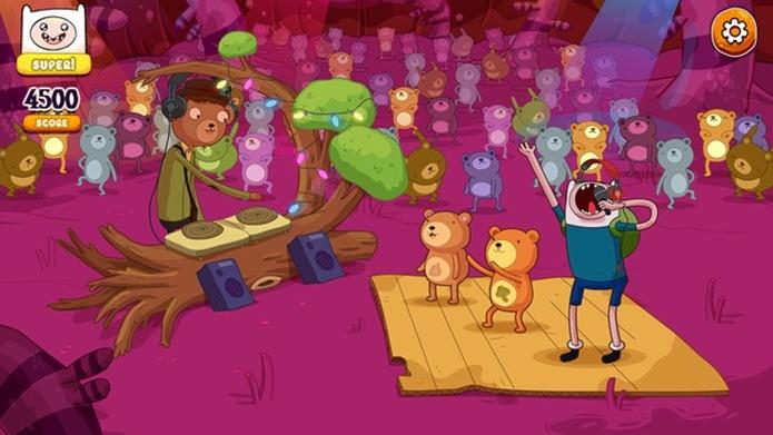 Finn, Jake e seus amigos soltam a voz em novo jogo para iPhone e iPad (Foto: Divulgação)
