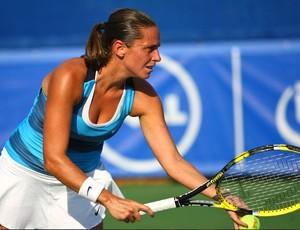 Roberta Vinci no WTA de Dallas  (Foto: Texas Tennis Open / Divulgação)