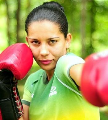 Ketlen Alves boxe (Foto: Michael Dantas/Sejel)