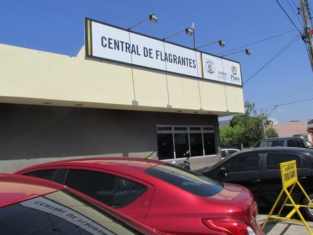 Central de Flagrantes de Teresina (Foto: Catarina Costa/G1)