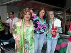 Alcione comemora aniversário com famosos na quadra da Mangueira