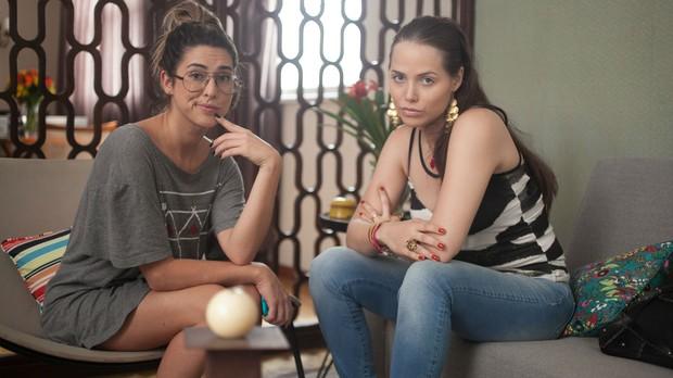 Amor Verssimo, episdio Baboseiras, Fernanda Paes Leme e Leticia Colin (Foto: Divulgao)