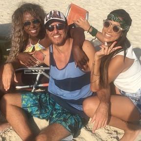 Adélia, Daniel e Juliana (Foto: Reprodução/Instagram)