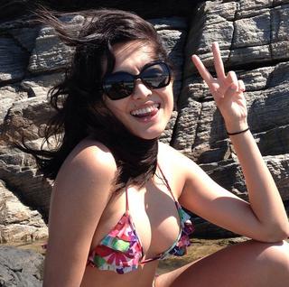 A atriz Jacqueline Sato incluiu carboidratos integrais em sua dieta para ganhar massa muscular  (Foto: Reprodução do Instagram)