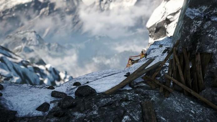 Local para montar o gancho para escapar (Foto: Reprodução)