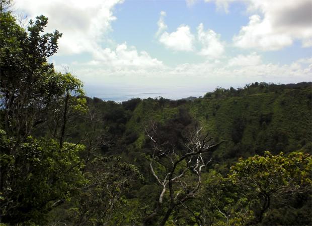 Montanhas no Havaí vão ser dissolvidas por águas subterrâneas, segundo cientistas (Foto: Divulgação/Universidade Brigham Young)