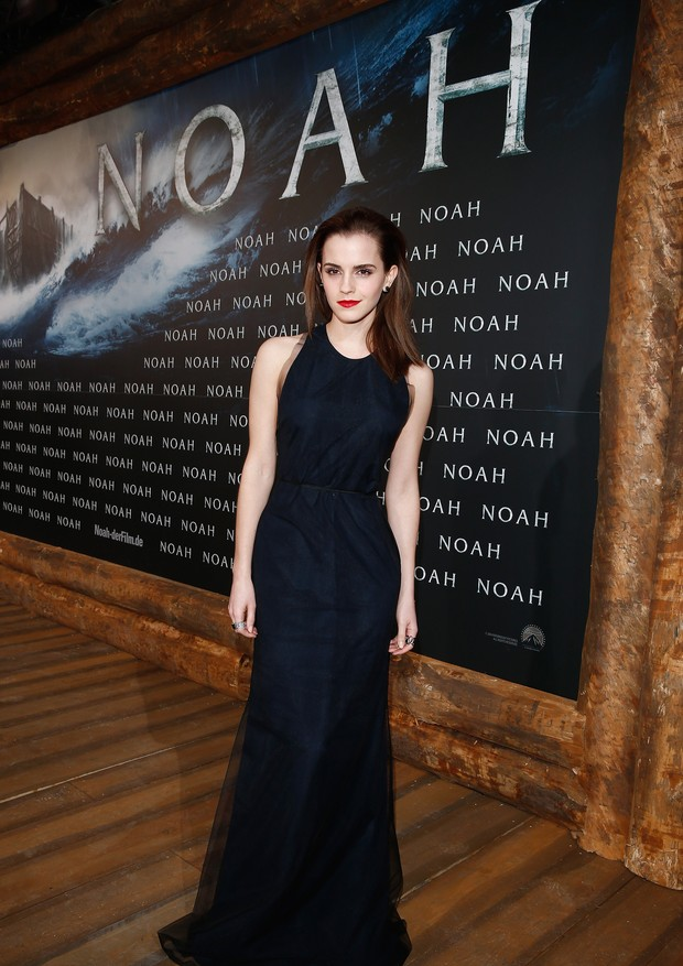 BERLIN, GERMANY - MARCH 13:  Emma Watson attends the premiere of Paramount Pictures' 'NOAH' at Zoo Palast on March 13, 2014 in Berlin, Germany.  (Photo by Andreas Rentz/Getty Images for Paramount Pictures) (Foto: Getty Images)