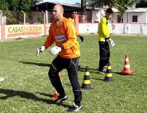 goleiro cristiano crb treino (Foto: Divulgação / site oficial do CRB)
