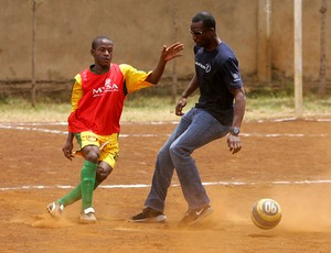 Mathare United e Michael Johnson (Foto: Getty Images)