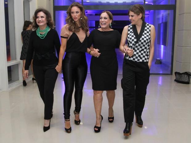 Rosamaria Murtinho, Paolla Oliveira, Susana Vieira e Bárbara Paz (Foto: Clayton Militão/ Foto Rio News)