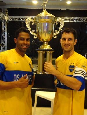 Alexandre Papito e Júlio Côgo (Foto: Richard Pinheiro)